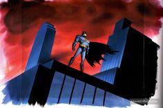 Batman: The Animated Series - Promotional art