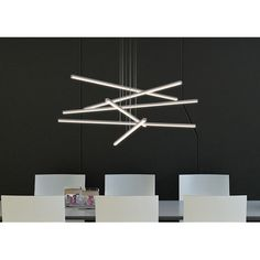Sonneman Stix 6 Light Kitchen Island Pendant | AllModern