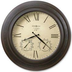 Copper Harbor Wall Clock - tick tock, tick tock,...I want this clock.