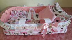 caminha baby alive para menina brincar vem com cobertor e travesseiro tecido algodão