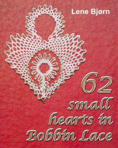62 Small Hearts in Bobbin Lace - Roseground
