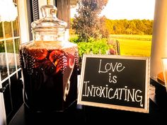 Love is Intoxicating   Homemade Sangria