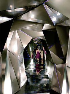 3D hallway, fourth floor designed by Plasma Studio - Silken Puerta América Madrid Photo