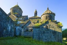 Monasteries of Haghpat and Sanahin in Armenia. These two Byzantine monasteries in the Tumanian region from the period of prosperity during the Kiurikian dynasty (10th to 13th century) were important centres of learning.