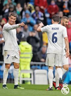 Ronaldo and Nacho