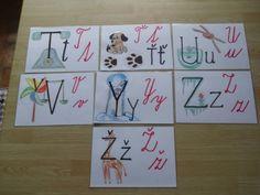 Obrázková abeceda 3 (autorka Marcela Hradecká)