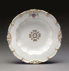 A James K. Polk (President, 1845-1849) Presidential Pattern Dinner Plate 8-12