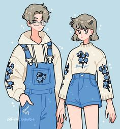 Art Kawaii, Arte Do Kawaii, Cute Kawaii Drawings, Aesthetic Drawing, Aesthetic Art, Aesthetic Anime, Cute Art Styles, Cartoon Art Styles, Arte Copic