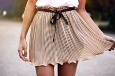 Flowing Blush Skirt