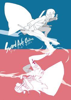 kirito and Asuna | Tumblr, Sword Art Online