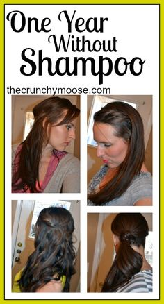 One Year Without Shampoo - The No Poo Method - The Crunchy Moose