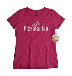 Pizza shirt funny geekery pizzatarian tshirt Italian deluxe vegetarian geeky cute birthday grad gift girls women by UnicornTees on Etsy https://www.etsy.com/listing/191885391/pizza-shirt-funny-geekery-pizzatarian