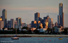 Melbourne Snaps: Melbourne Skyline at Dawn