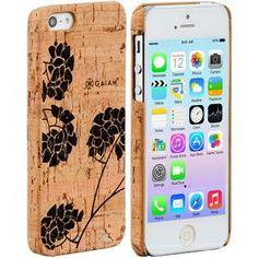iPhone 5 Cork Case Hydrangea