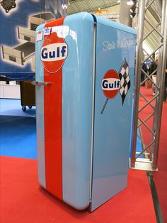 Gulf Fridge, Retro-Classics, Stuttgart, Germany, 2015