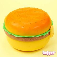Hamburger Bento Box - Round