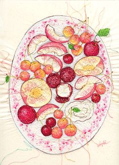 More beautiful machine embroidery from miyuki sakai artist - Google Search
