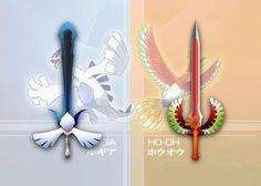 Pokemon - Lugia, Ho-oh sword