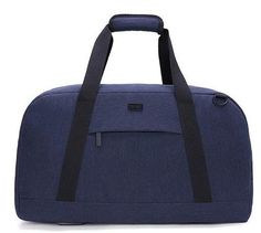 6798c904623f Men s   Women s 40L Large Capacity Nylon Travel Luggage Handbags -  Blue Dark Grey Fashion