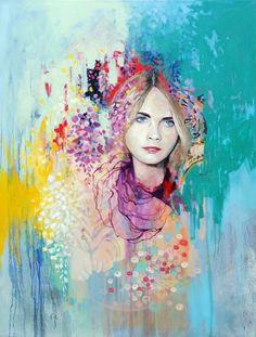 Пастельные портреты от Эммы Абер (16 картин)