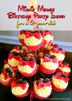Minnie Mouse Birthday Party Ideas for toddlers.