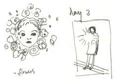 ヴィヴィアンさんのスケッチ Shiseido, Female, Flowers, Royal Icing Flowers, Flower, Florals, Floral, Blossoms