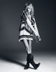 The New Look – Polish model Anja Rubik is the latest beauty tapped for a Free People shoot. The blonde stunner fronts the label's July catalogue in a series of images lensed by Paola Kudacki. Anja shows off her personality in a mix of booties, flowy tops, denim and transitional jackets. Cool, nature inspired illustrations …