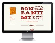 Bon Banh Mi   Website Design