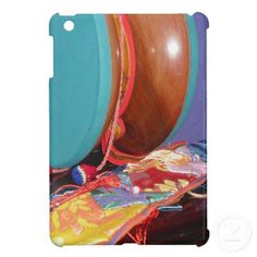 Tibetan Drum iPad Mini Case It's also on a box and on postage stamps Click twice to purchase