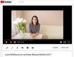 youtube.com - pozvánka - moderátorka a modelka Lucie Křížková