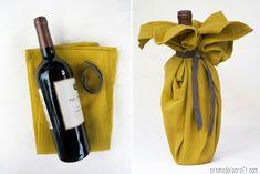 10 kreative ideen wie sie weinflaschen verpacken und dekorieren verschenken wein und flaschen. Black Bedroom Furniture Sets. Home Design Ideas