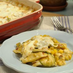Corn and Chipotle Ravioli Lasagna By Marcela Valladolid