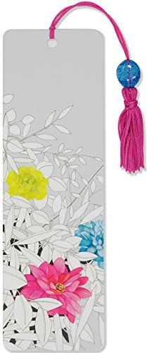 Modern Floral Beaded Bookmark by Peter Pauper Press http://www.amazon.com/dp/1441318658/ref=cm_sw_r_pi_dp_k4Amwb1A1CXPA