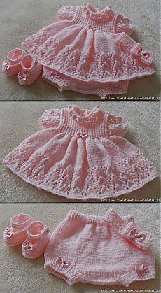 Baby Dress EN ESTE PIN HAY MIL PUNTADAS,CARPETAS, VESTIDOS ETC. O J O.....