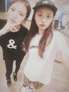 Afterschool - Kaeun & Nana (cr: to owner) Sooyoung, After School, Korean, Hipster, Japanese, T Shirts For Women, Female, Collection, Fashion
