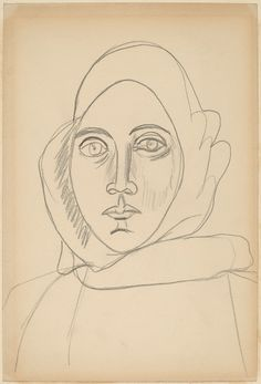 Arshile Gorky, Portrait of the Artist's Mother, unknown date