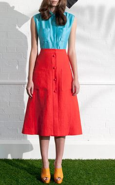 Isa Arfen Spring/Summer 2015 Trunkshow Look 3 on Moda Operandi