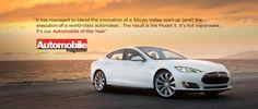 Tesla Model S - Automobile Magazine Car of the Year