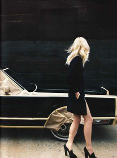 Black luxe!