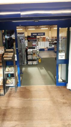 #EASYJoint point of sale stand in the entrance at JT Dove - Berwick