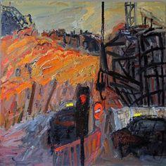 susanne du toit: Painting London, Lancaster Gate