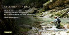 Decembers Fin & Fly featuring John Bailey, Chris Ogbourne and Stuart Minnikin | Hardy Fishing