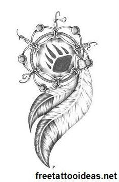 native american bear tattoo designs - Google Search