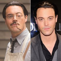 Richard Harrow/Jack Huston....those eyes...sigh.  So upset they killed him off in Boardwalk Empire.
