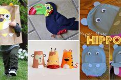14 Magnifiques bricolages sur le thème des animaux, à faire avec les enfants!