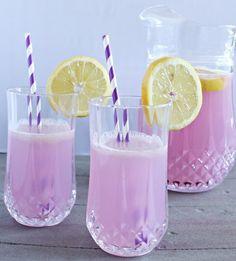 Lavender Lemonade | 14 Lavender-Infused Unique Dessert Recipes | Enjoy the Fresh Flavor and Savory Taste of these Healthy Homemade Lavender Recipes : http://homemaderecipes.com/14-lavender-unique-dessert-recipes/