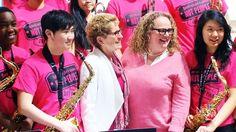 International Day of Pink: Rosy hues used to stand up against bullies. http://www.ctvnews.ca/video?clipId=587484&playlistId=1.2317331&binId=1.810401&playlistPageNum=1&binPageNum=1