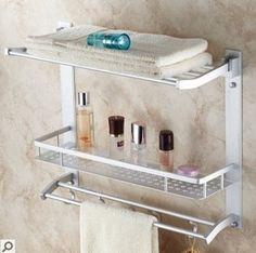 39.99$  Buy now - https://alitems.com/g/1e8d114494b01f4c715516525dc3e8/?i=5&ulp=https%3A%2F%2Fwww.aliexpress.com%2Fitem%2FFree-shipping-44cm-Aluminum-towel-rack-towel-bar-bathroom-shelf-shampoo-shelf-bathroom-accessories-cloth-rack%2F32420976016.html - Free shipping 44cm Aluminum towel rack towel bar bathroom shelf shampoo shelf bathroom accessories cloth rack multifunction rack 39.99$