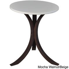 Regency Seating Niche Mia Bentwood Side Table - $43.00 Overstock™ Shopping - Great Deals on Regency Seating Coffee, Sofa & End Tables