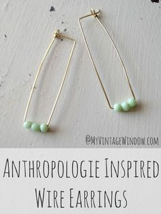 30 DIY Anthropologie Jewelry Project Knock-Offs | My Girlish Whims
